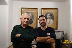 Opa und Enkel (Bild: Markus Ecker)
